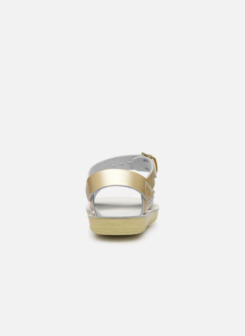 Sandalias Salt-Water Sweetheart Premium Oro y bronce vista lateral derecha
