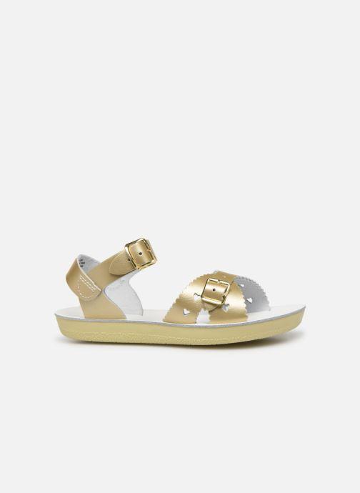 Sandalias Salt-Water Sweetheart Premium Oro y bronce vistra trasera
