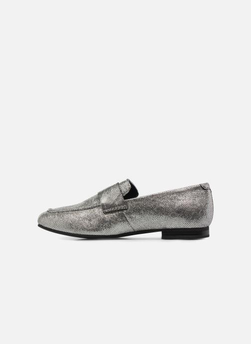 Mocassins Vagabond Shoemakers EVELYN / silver Argent vue face