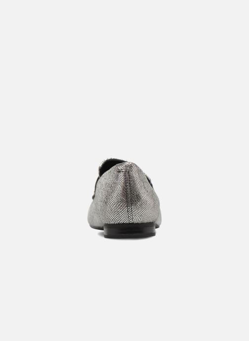 Mocasines Vagabond Shoemakers EVELYN / silver Plateado vista lateral derecha