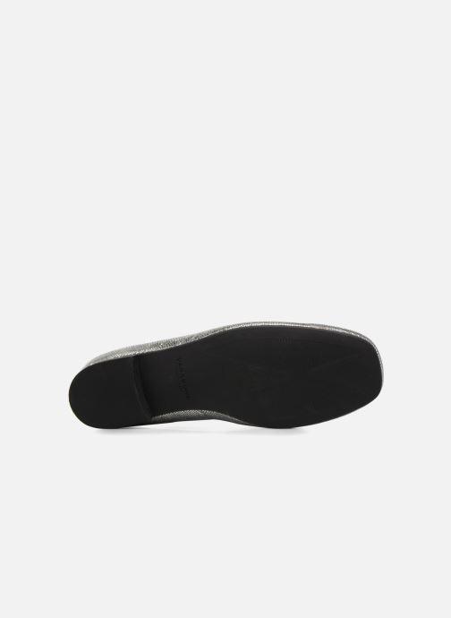 Mocasines Vagabond Shoemakers EVELYN / silver Plateado vista de arriba