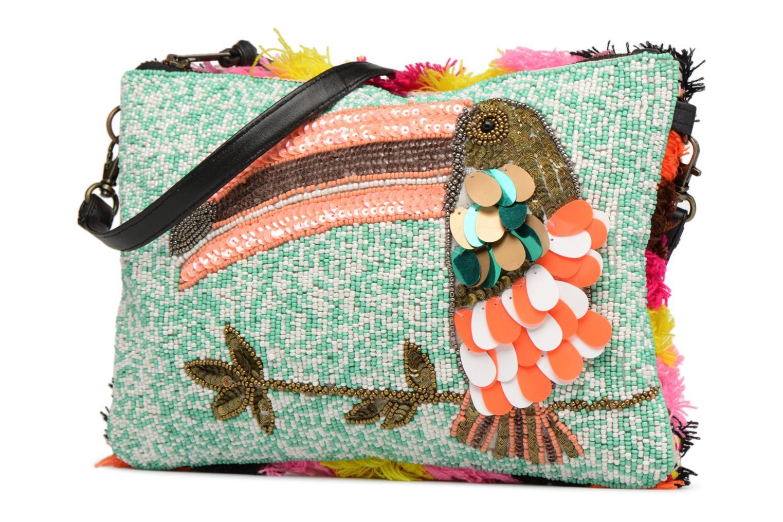 Mini Bags Essentiel Antwerp PIVORNO Large Beaded Pouch mehrfarbig schuhe getragen