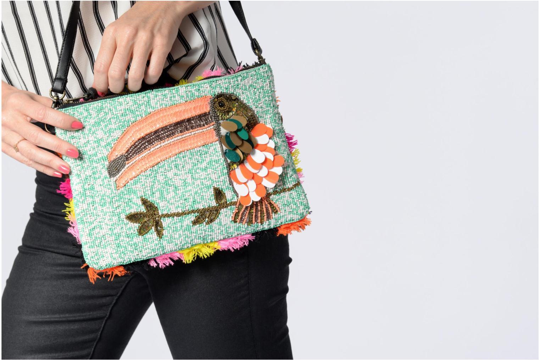 Mini Bags Essentiel Antwerp PIVORNO Large Beaded Pouch mehrfarbig ansicht von oben