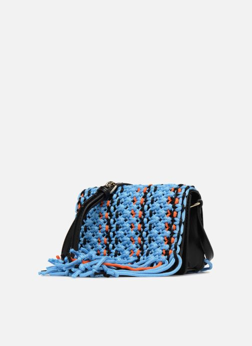 Bolsos de mano Essentiel Antwerp PIANTI Knotted Shoulderbag Azul vista del modelo