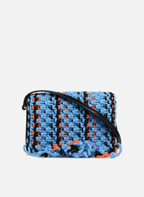Handtassen Essentiel Antwerp PIANTI Knotted Shoulderbag Blauw voorkant