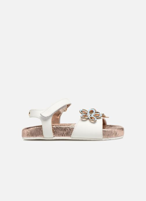 Sandali e scarpe aperte Michael Michael Kors Zia Marsha Way-T Bianco immagine posteriore