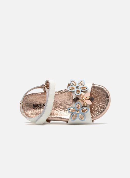 Sandali e scarpe aperte Michael Michael Kors Zia Marsha Way-T Bianco immagine sinistra