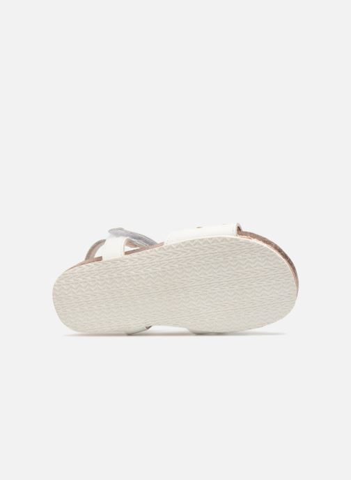 Sandals Michael Michael Kors Zia Marsha Way-T White view from above