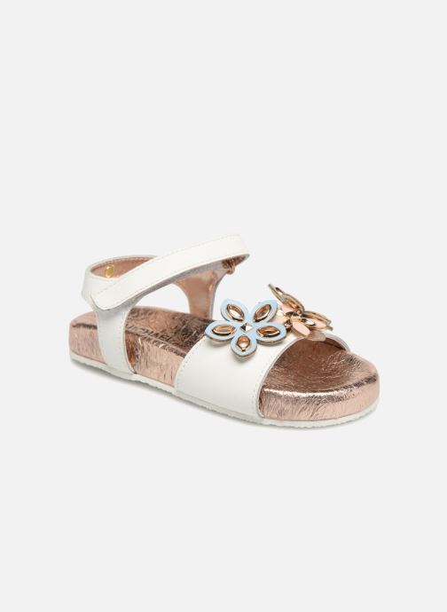 Sandali e scarpe aperte Michael Michael Kors Zia Marsha Way-T Bianco vedi dettaglio/paio