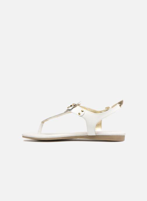Sandales et nu-pieds Michael Michael Kors Zia-Demi Heidi Blanc vue face