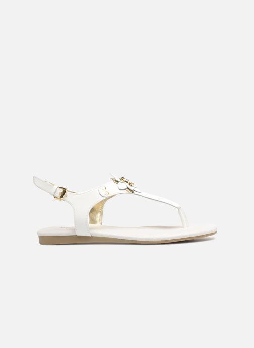 Sandales et nu-pieds Michael Michael Kors Zia-Demi Heidi Blanc vue derrière