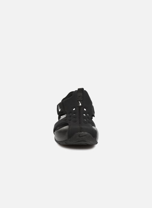 Sandalias Nike Nike Sunray Protect 2 (Ps) Negro vista del modelo