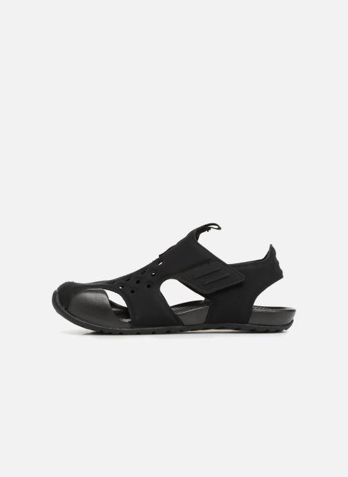 Sandalias Nike Nike Sunray Protect 2 (Ps) Negro vista de frente