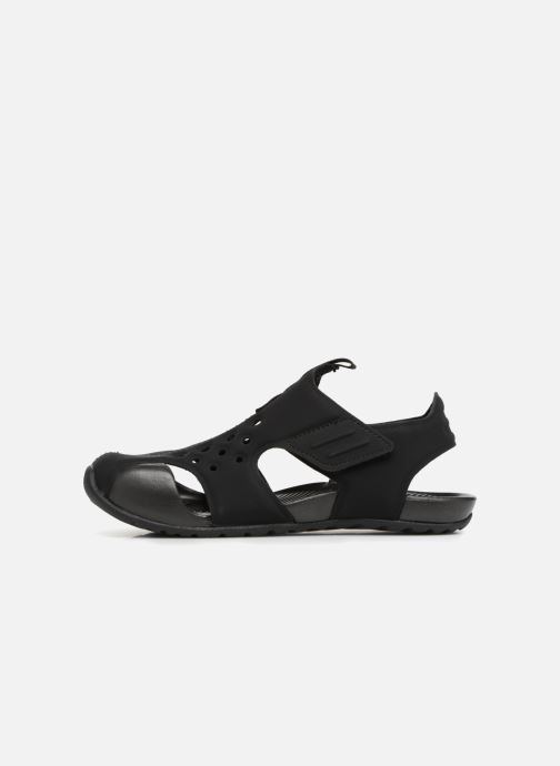 Sandals Nike Nike Sunray Protect 2 (Ps) Black front view