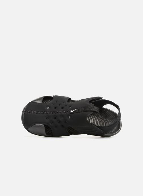 Sandales et nu-pieds Nike Nike Sunray Protect 2 (Ps) Noir vue gauche