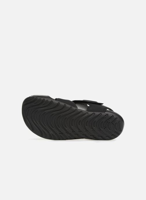 Sandals Nike Nike Sunray Protect 2 (Ps) Black view from above