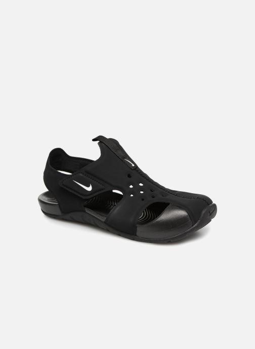 Sandaler Nike Nike Sunray Protect 2 (Ps) Sort detaljeret billede af skoene