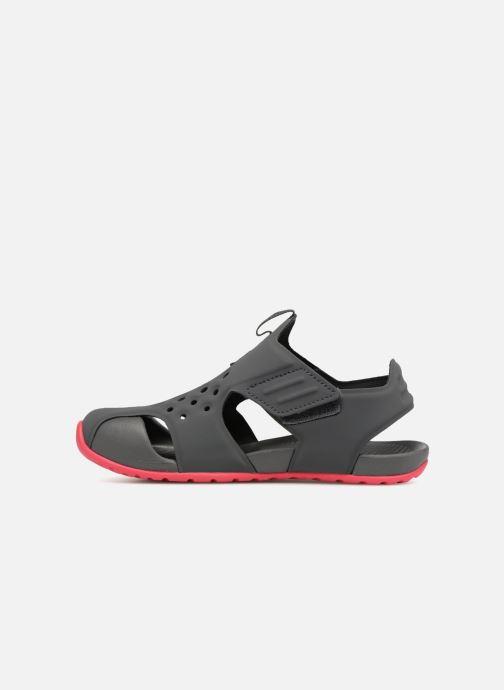 Sandalen Nike Nike Sunray Protect 2 (Ps) Grijs voorkant