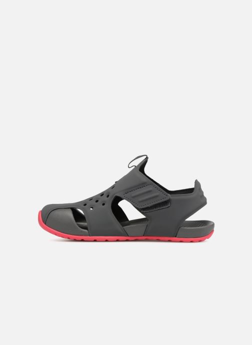 Sandals Nike Nike Sunray Protect 2 (Ps) Grey front view