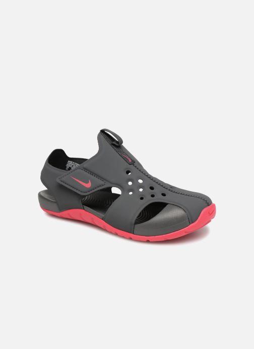 Sandales et nu-pieds Nike Nike Sunray Protect 2 (Ps) Gris vue détail/paire