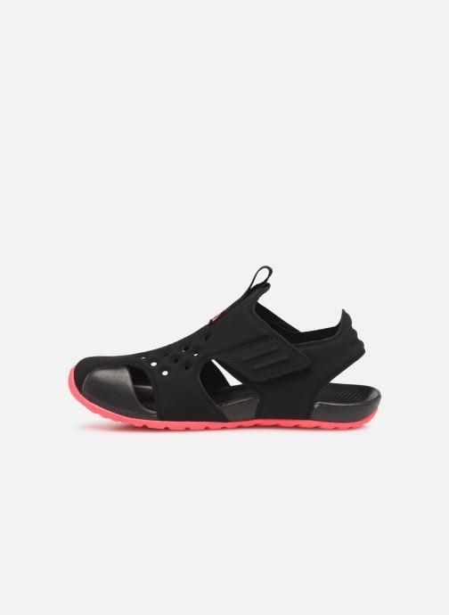 Sandali e scarpe aperte Nike Nike Sunray Protect 2 (Ps) Nero immagine frontale