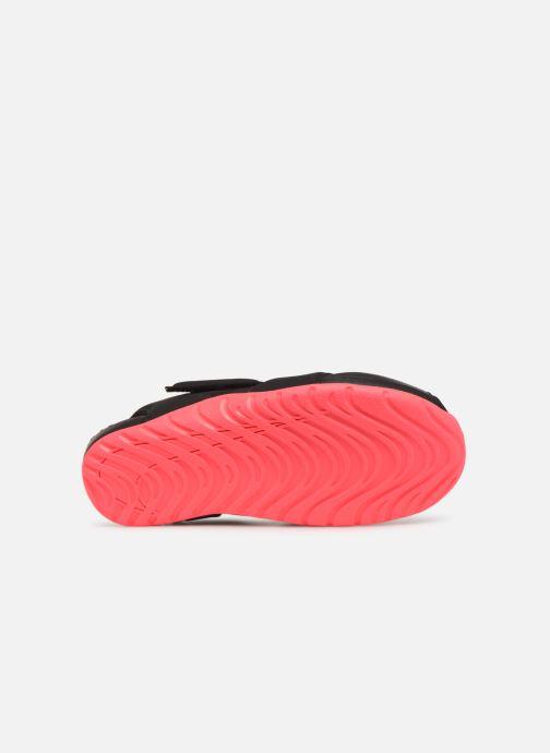 Sandalias Nike Nike Sunray Protect 2 (Ps) Negro vista de arriba