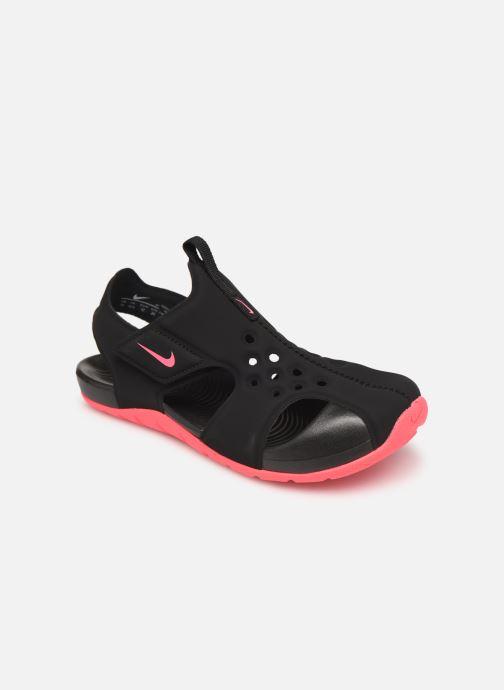 Sandalias Nike Nike Sunray Protect 2 (Ps) Negro vista de detalle / par