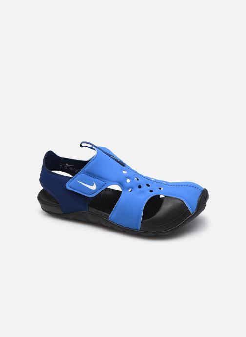 Sandalen Nike Nike Sunray Protect 2 (Ps) blau detaillierte ansicht/modell