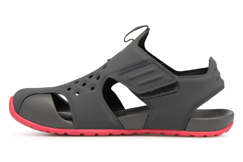 Sandales et nu-pieds Nike Nike Sunray Protect 2 (Ps) Gris vue face