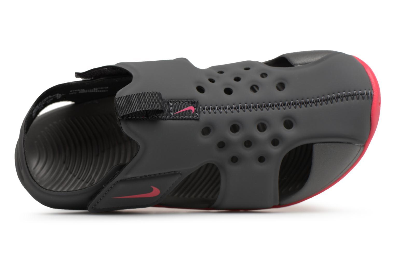 Sandales et nu-pieds Nike Nike Sunray Protect 2 (Ps) Gris vue gauche