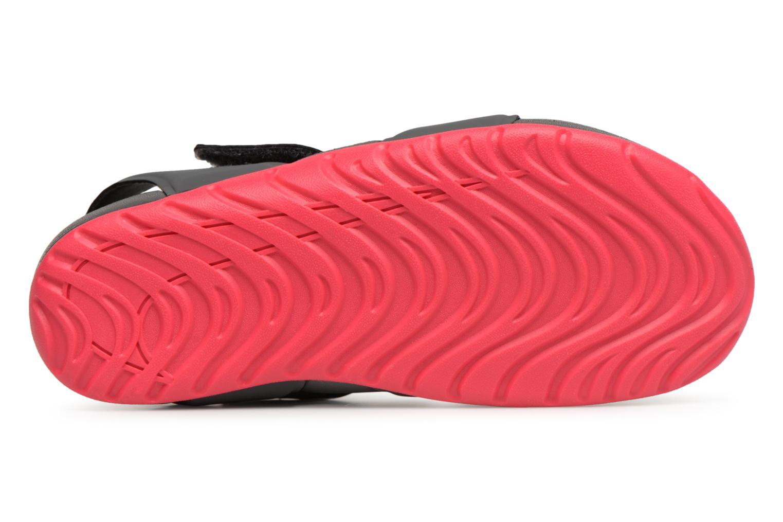 Sandales et nu-pieds Nike Nike Sunray Protect 2 (Ps) Gris vue haut