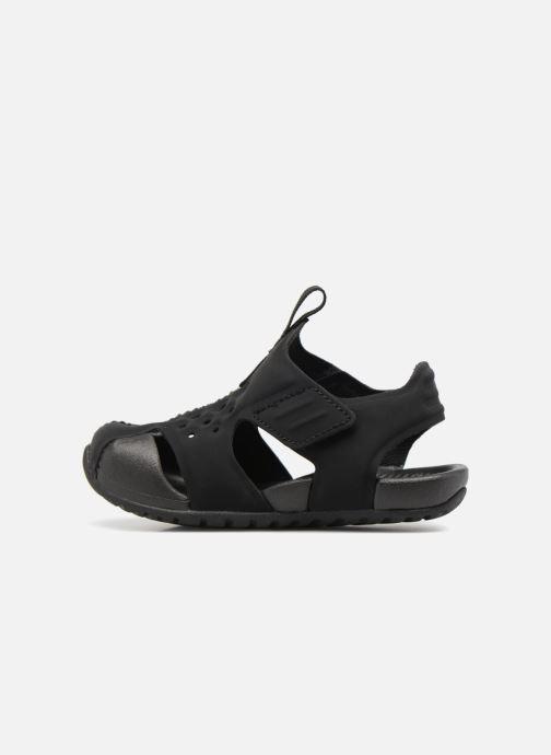 Sandalen Nike Nike Sunray Protect 2 (Td) schwarz ansicht von vorne