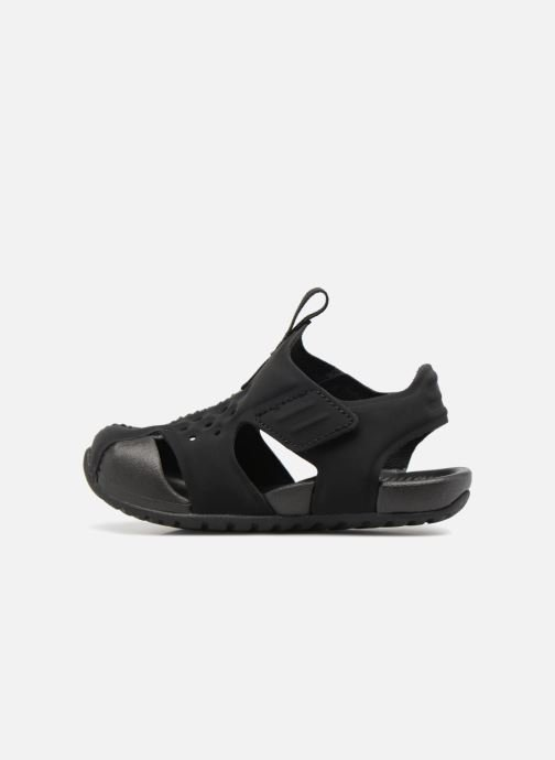 Sandals Nike Nike Sunray Protect 2 (Td) Black front view