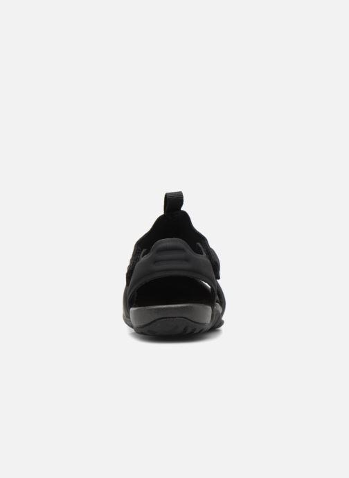 Sandales et nu-pieds Nike Nike Sunray Protect 2 (Td) Noir vue droite