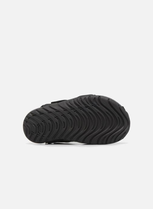 Sandalen Nike Nike Sunray Protect 2 (Td) schwarz ansicht von oben