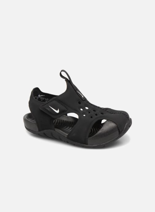 Sandals Nike Nike Sunray Protect 2 (Td) Black detailed view/ Pair view