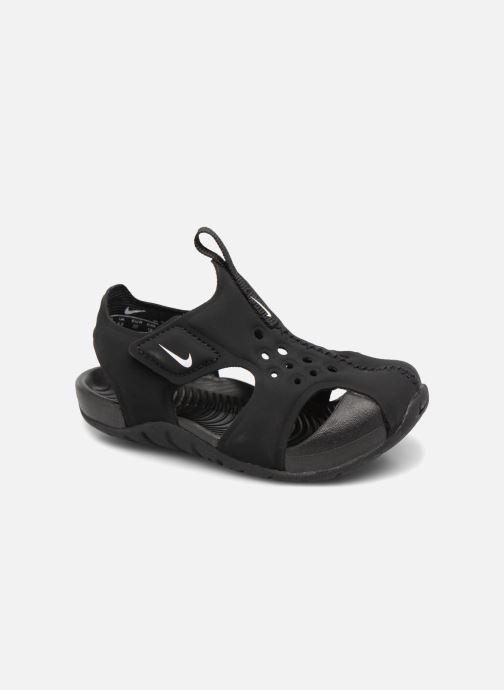Sandaler Nike Nike Sunray Protect 2 (Td) Sort detaljeret billede af skoene