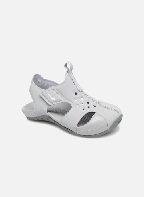 hot sale online 9e38a 496ed Sandales et nu-pieds Nike Nike Sunray Protect 2 (Td) Gris vue détail