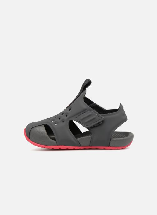 Sandaler Nike Nike Sunray Protect 2 (Td) Grå bild från framsidan
