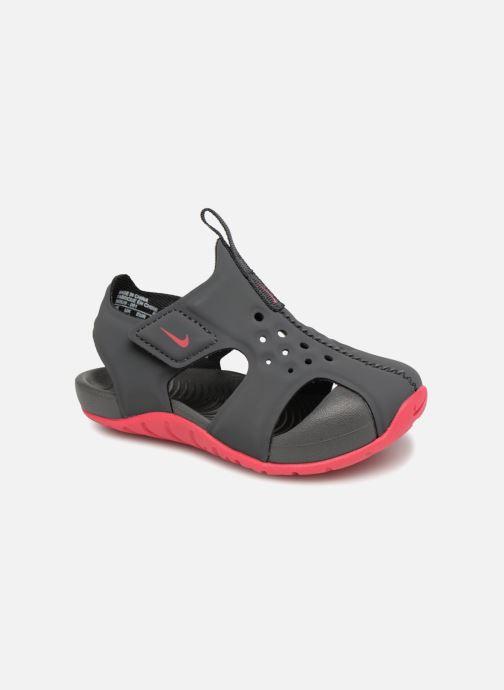 Sandaler Nike Nike Sunray Protect 2 (Td) Grå detaljerad bild på paret