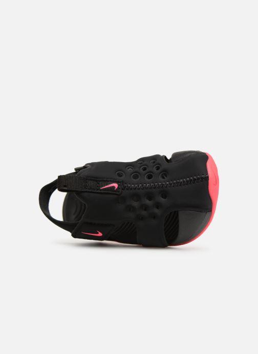 Sandales et nu-pieds Nike Nike Sunray Protect 2 (Td) Noir vue gauche
