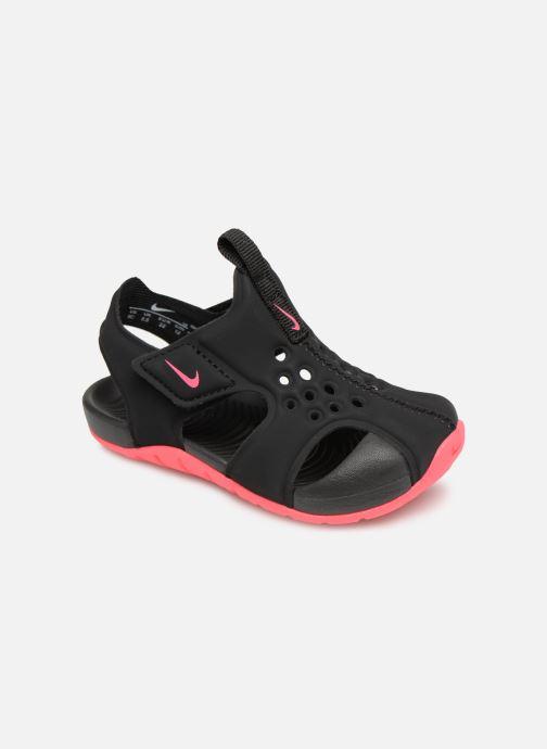 Sandaler Nike Nike Sunray Protect 2 (Td) Svart detaljerad bild på paret