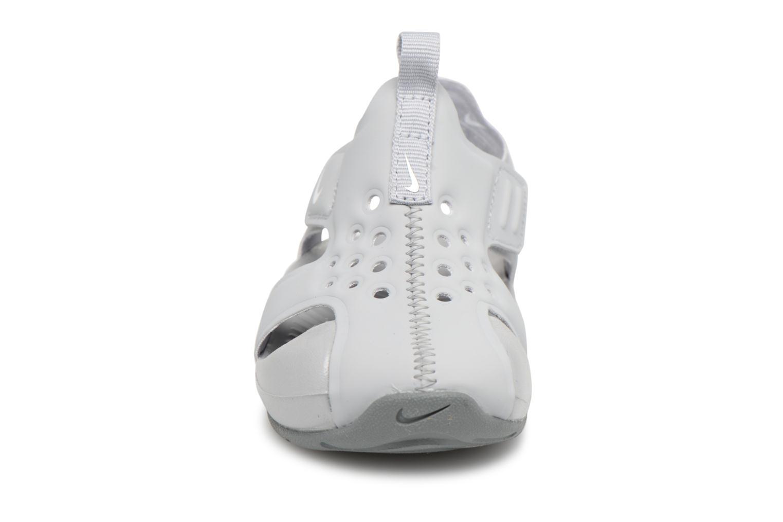 Sandalen Nike Nike Sunray Protect 2 (Td) grau schuhe getragen