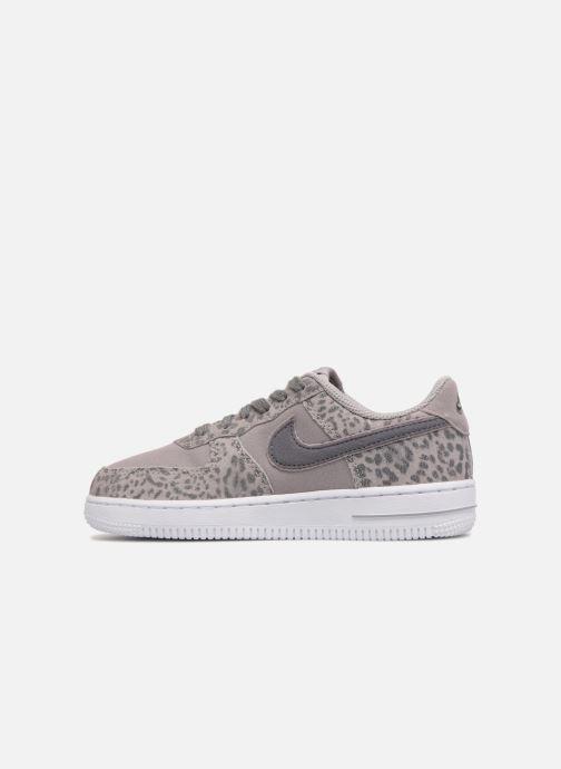 Sneakers Nike Nike Force 1 Lv8 (Ps) Grijs voorkant