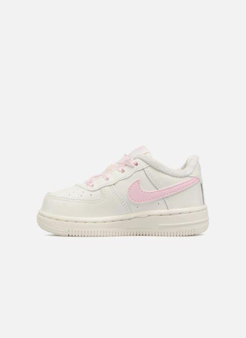Sneaker Nike Nike Force 1 (Td) weiß ansicht von vorne
