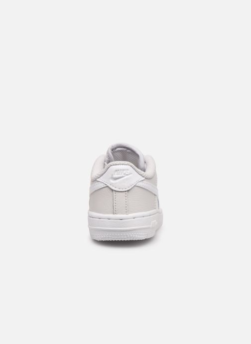 Trainers Nike Nike Force 1 (Td) White view from the right