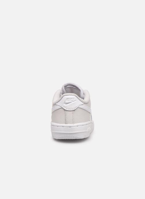 Baskets Nike Nike Force 1 (Td) Blanc vue droite