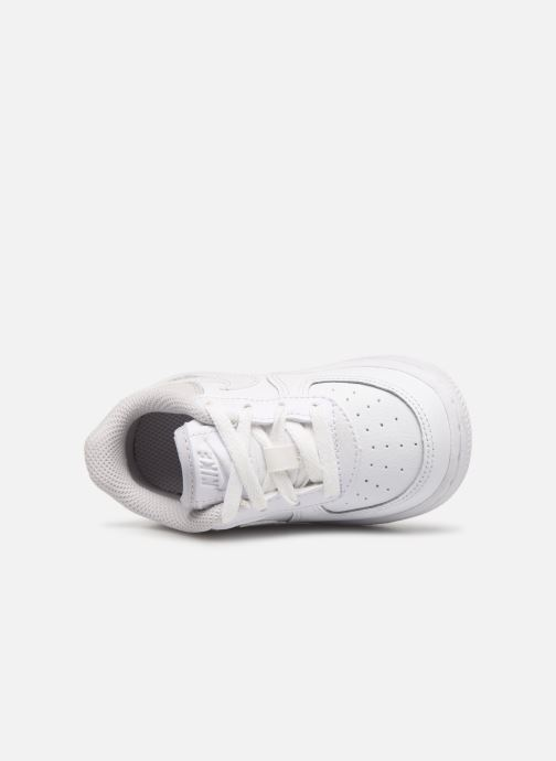 Trainers Nike Nike Force 1 (Td) White view from the left