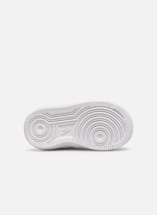 Baskets Nike Nike Force 1 (Td) Blanc vue haut