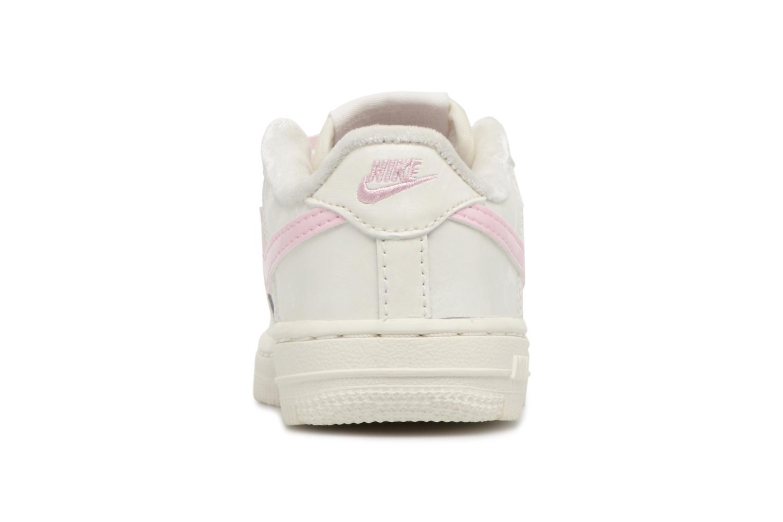 Sneaker Nike Nike Force 1 (Td) weiß ansicht von rechts